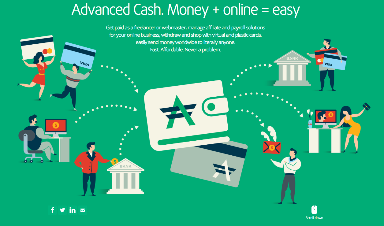 AdvCash – Successful withdrawal of funds. Offshore payment card