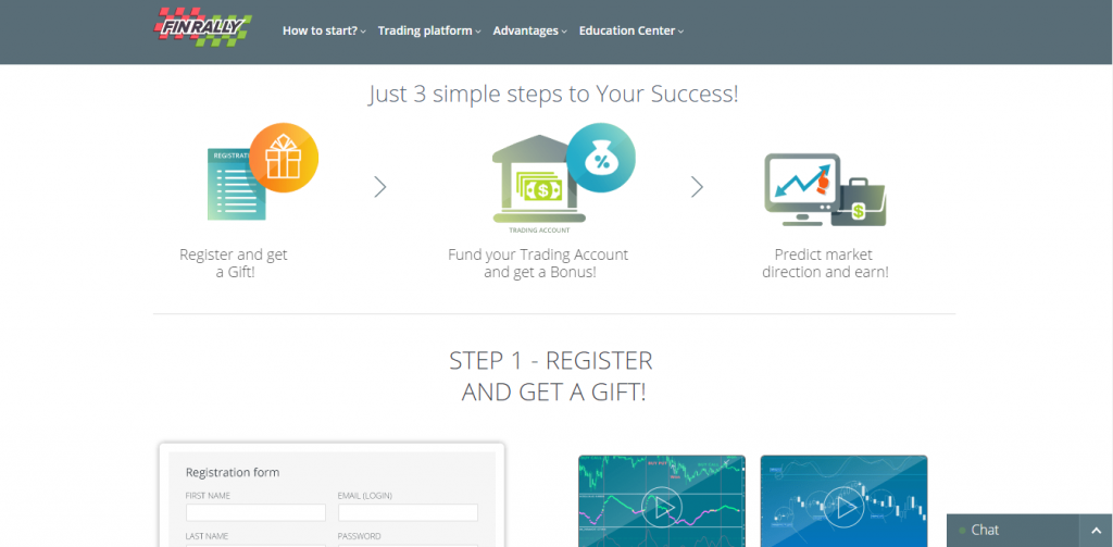 Finrally binary options review