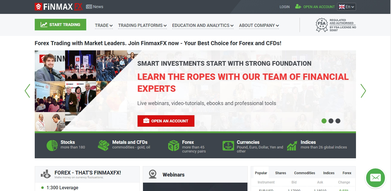 finmaxfx-website