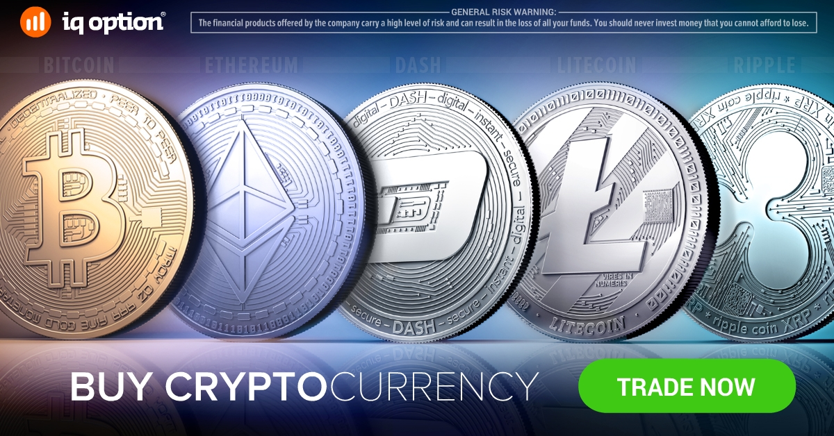 Trade safely with one of the most advanced binary options and crypto currency trading platform - IQ option
