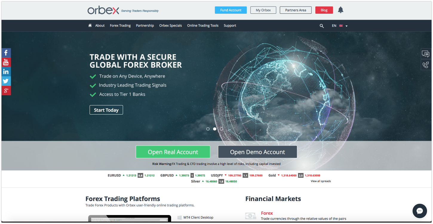 Online Forex Trading | Trade Forex, Commodities, Indices | ORBEX