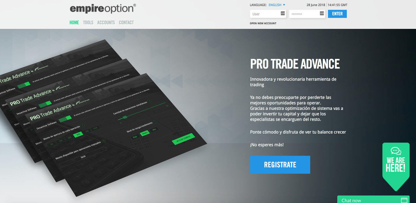 EmpireOption.com | Leading Investment Platform for Forex and CFDs