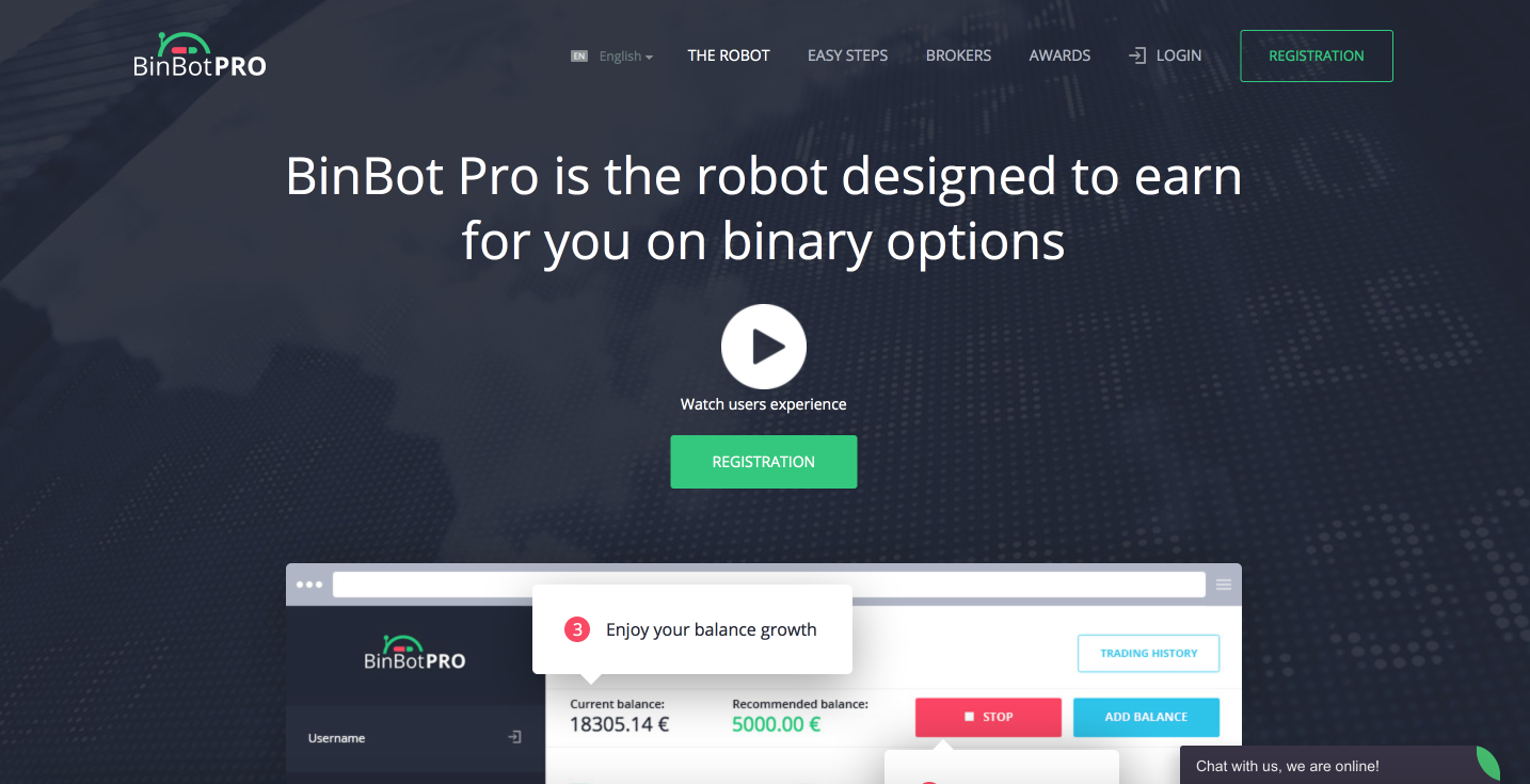 BinBot PRO review and feedback