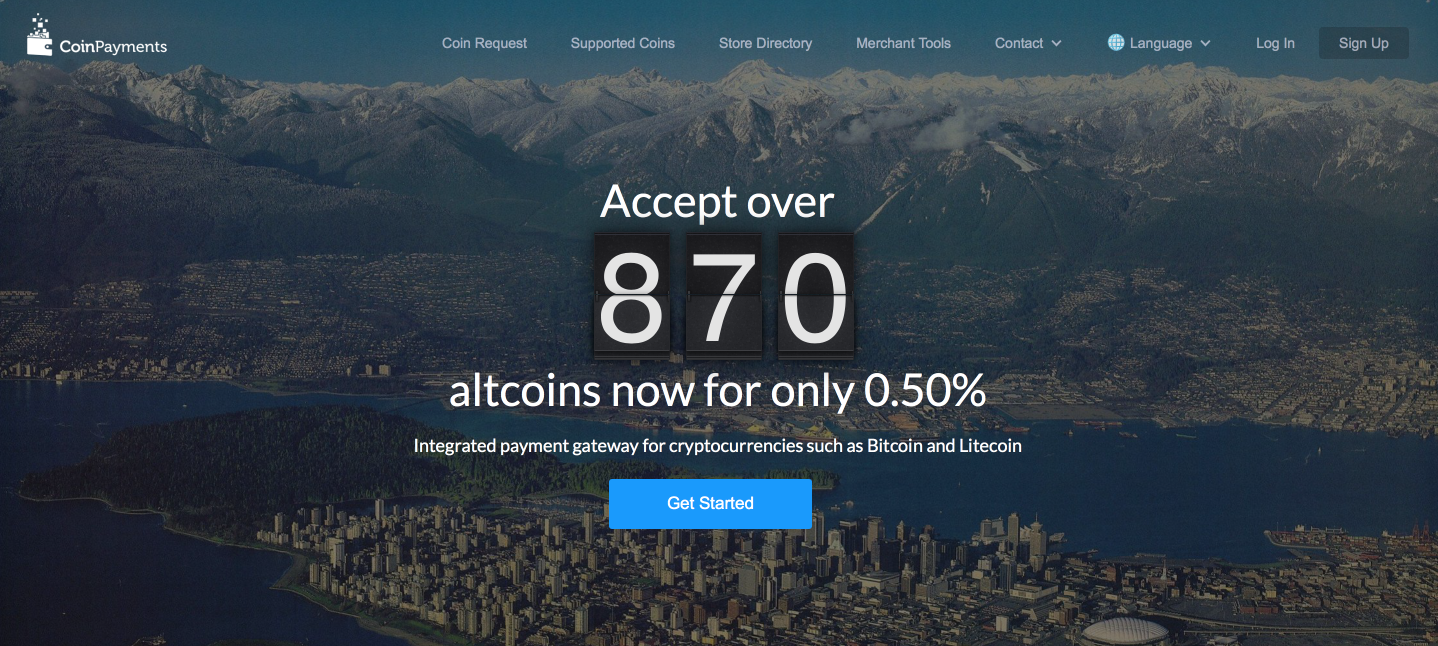 Accept Bitcoin & Other Cryptocurrencies | Payment Processor | FREE Multi-Coin Wallet