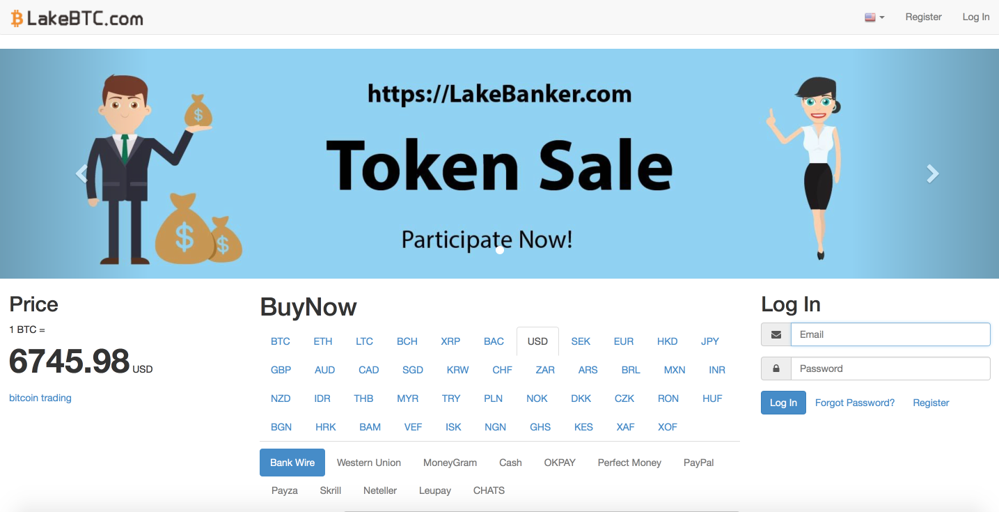 LakeBTC cryptocurrency exchange review