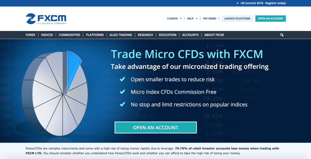 Binary options fxcm