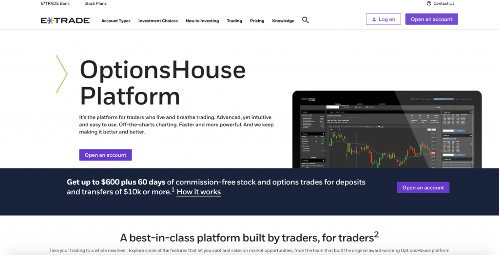 Optionshouse trading level 1
