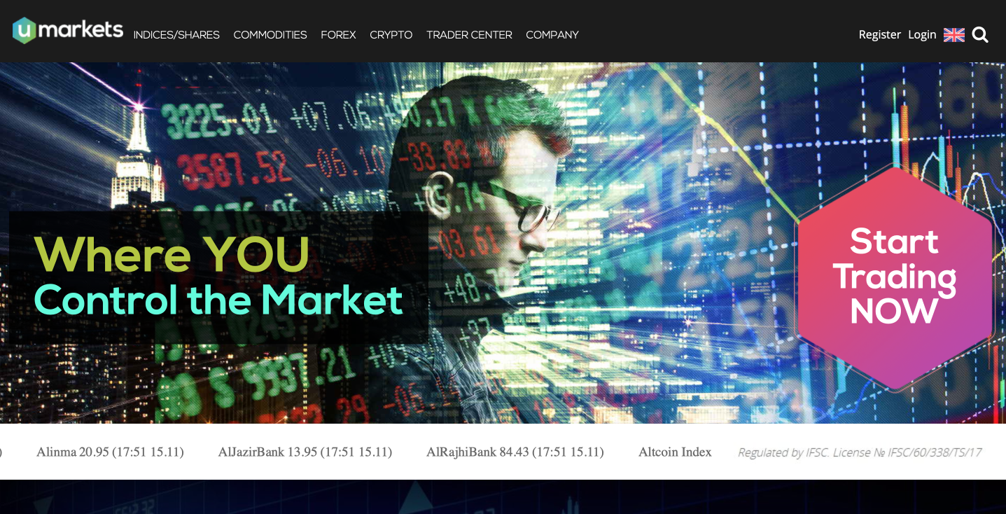 Umarkets – forex and CFD broker review