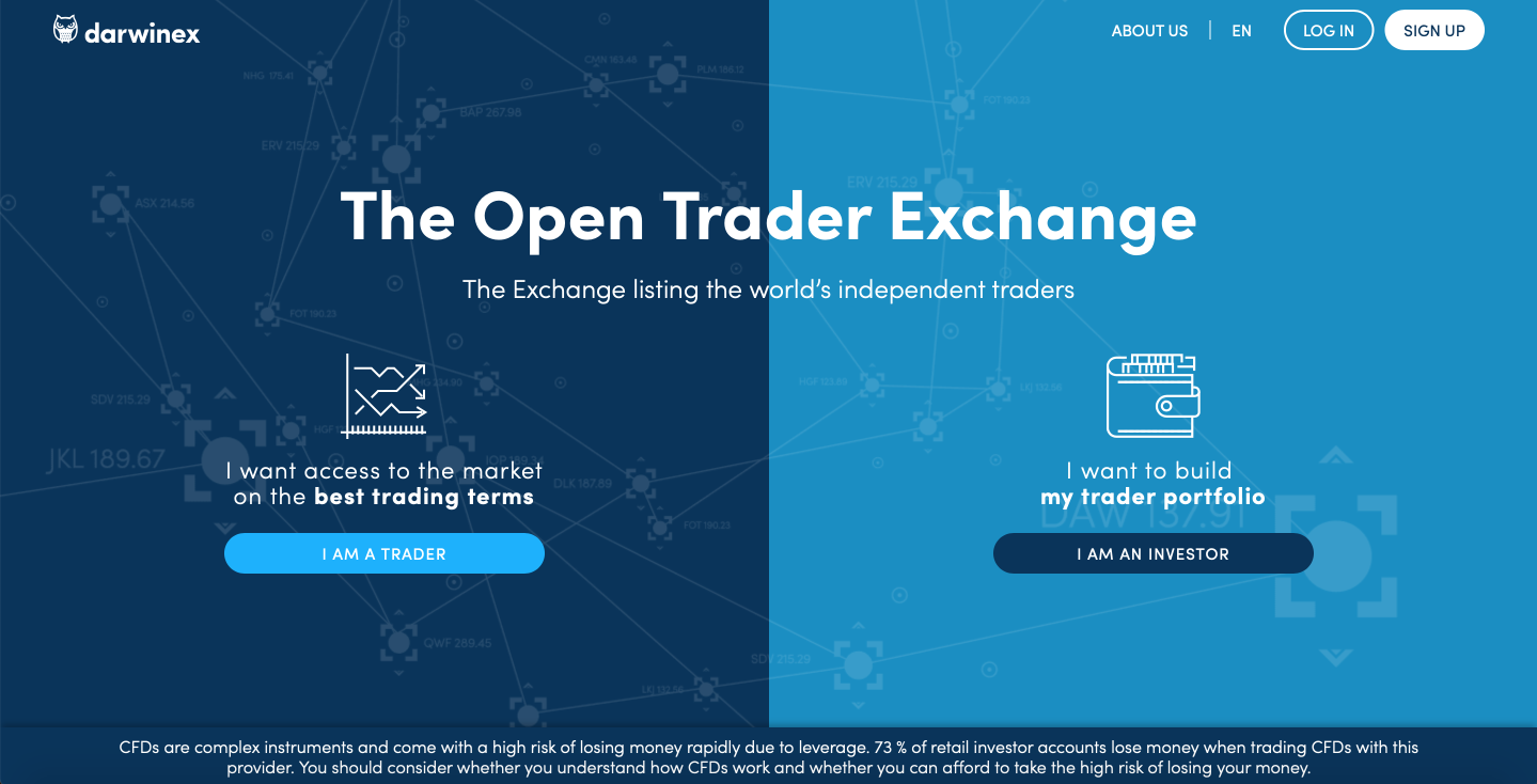 Darwinex independent trader exchange review