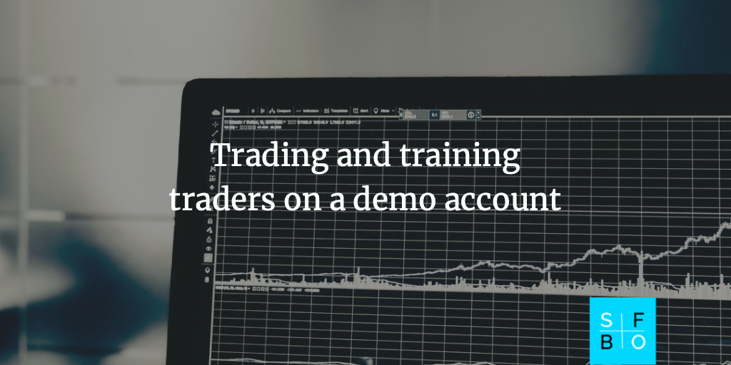 Trading on demo account