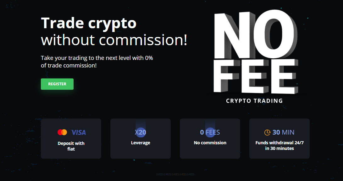 trade cryptocurrency without commissions